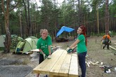 "Volunteers Working at Baikal: the Way the Shift of the ""Reserved Baikal Region"" has passed"