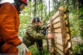 Risk your life: volunteers built nests for rare Baikal birds