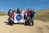Volunteers and The Great Baikal Trail Project Saving Olkhon Springs