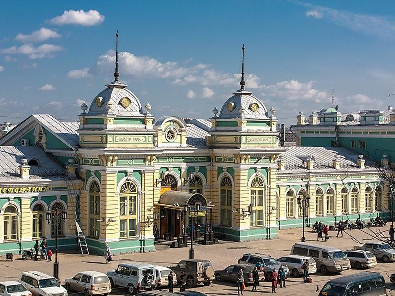 The House of a Million Faces: 110th Anniversary of the Irkutsk Railway Station