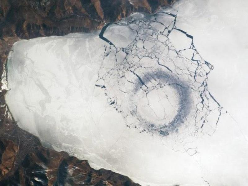 Circles on the Ice of Baikal: It's Only Science, No Sensation